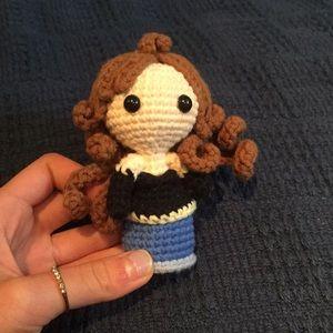 Other - Crochet Princess Figure Keychain